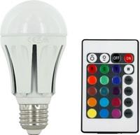 LED RGB Lampa Sockel E27