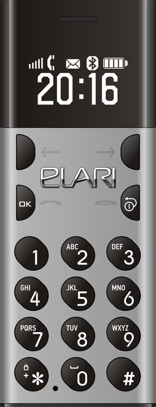 bild 1 av Elari NanoPhone GSM Space Grey