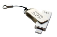 SmartDrive 64GB USB 2.0 Lightning/USB Minne Apple MFI certifierad