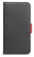 Holdit Plånboksfodral iPhone 6/6S  Svart/Röd