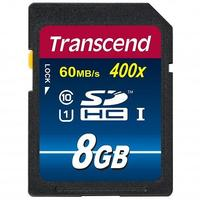 Transcend SDHC 8GB CL10 400X