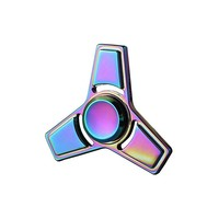 Fidget Spinner - Metall - Rainbow