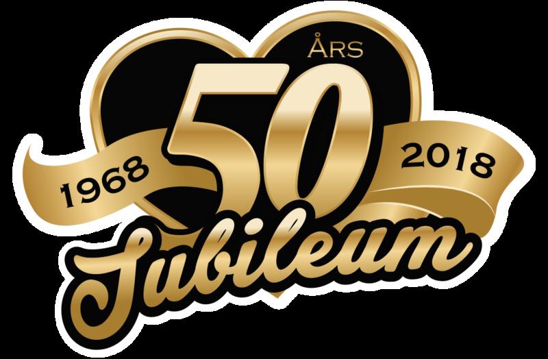 50 år Vi firar 50 år! 50 år