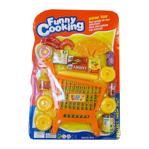 Funny Cooking Trolley /