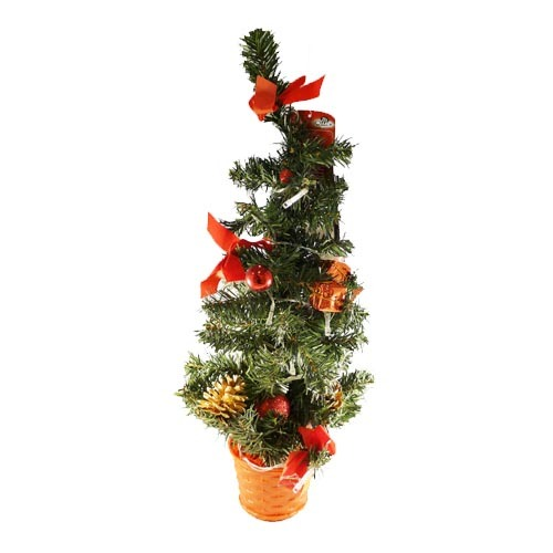 Julträd 45 cm med ledlampor
