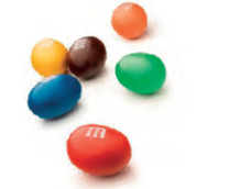 M&M Peanut Lösvikt - 1 kg /