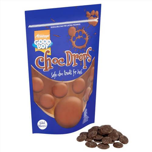 CHOC DROPS 250 GR (hundgodis) /
