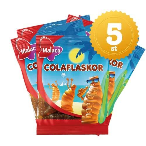 COLAFLASKOR PÅSE 80G - 5 st