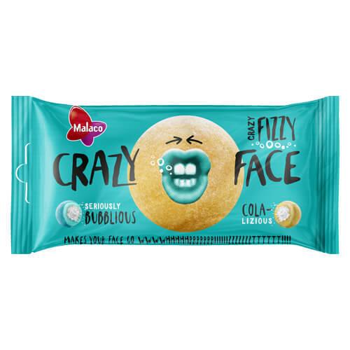 CRAZY FACE FIZZY SOUR - 60 g /