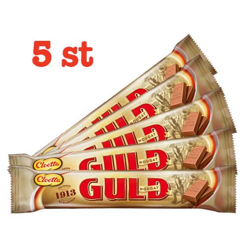 DUBBEL GULDNOUGAT - 5 st