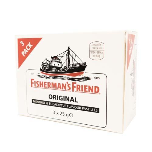 FISHERMAN FRIEND ORIGINAL 3-pack /