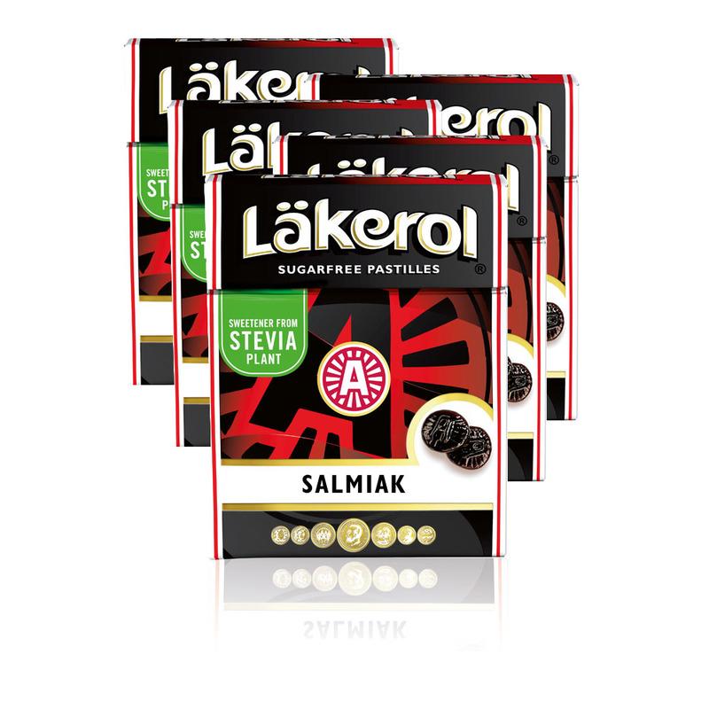 LÄKEROL SALMIAK - 5 st