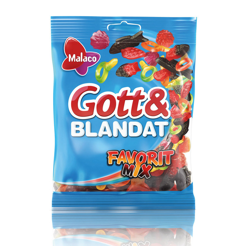 GOTT & BLANDAT FAVORITMIX 140 G