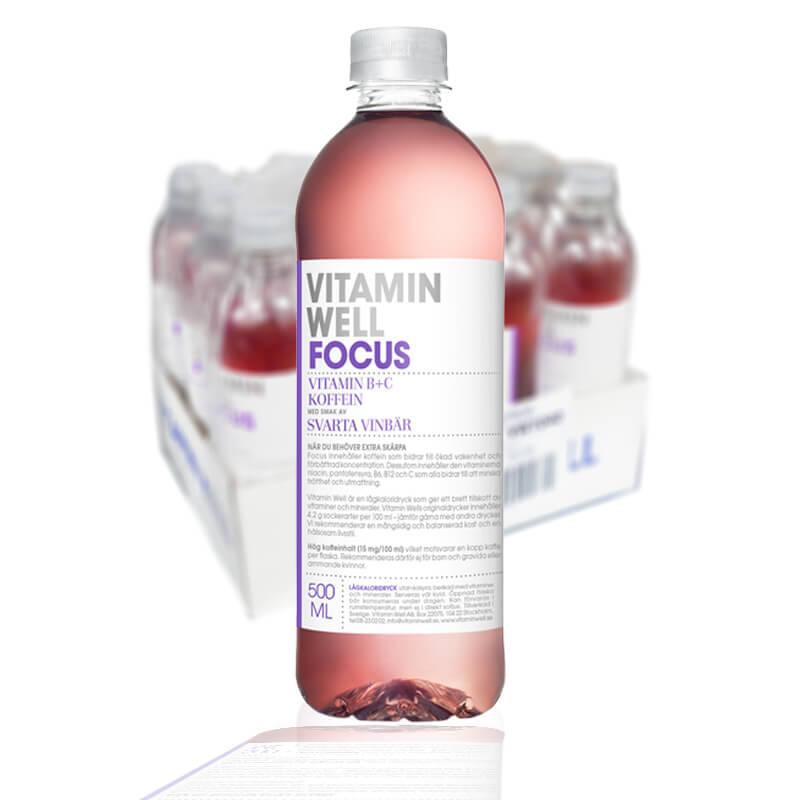 VITAMIN WELL FOCUS 50CL - 12 st