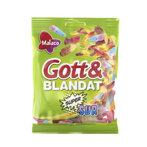 Gott&Blandat Supersur 130 gr