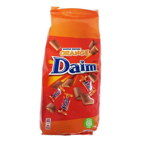 DAIM PÅSE MINI ORANGE - 350g