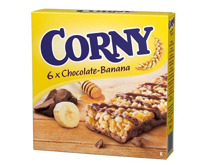 CORNY CHOKLAD/BANAN 6-PACK 25G