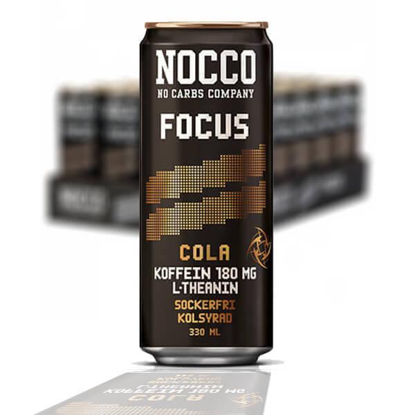 NOCCO BCAA FOCUS COLA 33 CL - 24 st
