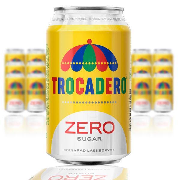 Trocadero Zero Sugar 33 cl x 24 st