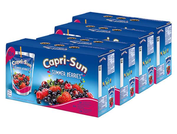 CAPRI-SUN SUMMER BERRIES 4-pack