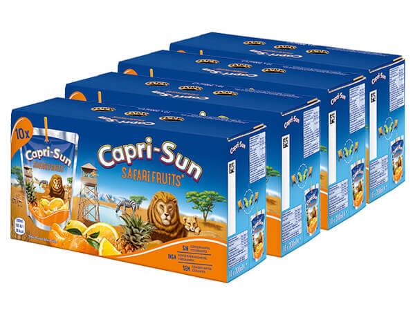 CAPRI-SUN SAFARI FRUIT 4-pack