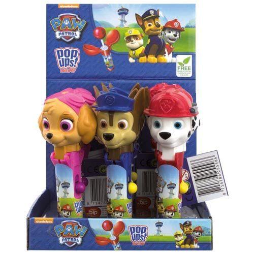 PAW PATROL  POP UPS LOLLIPOP 10G