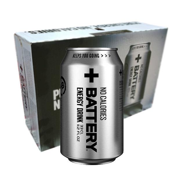 Battery Energy No Calories - 33cl x 24st /
