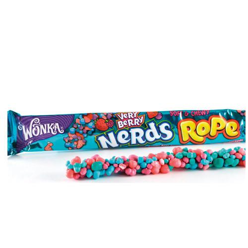 Nerds Very Berry Rope 26g x 24 st