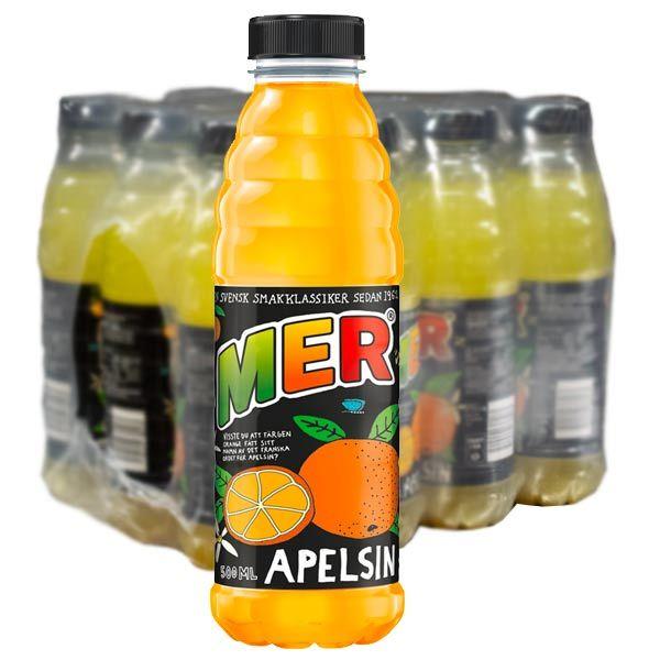 Mer Apelsin 50cl - 12st