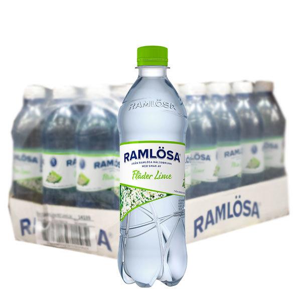 Ramlösa Fläder/Lime 50cl - 24st /