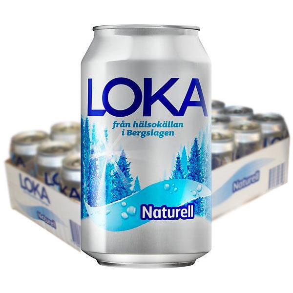 Loka Naturell  33cl - 24 st /
