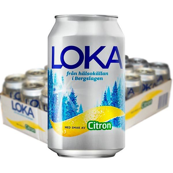 Loka Citron 33cl - 24 st /