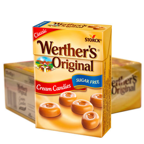 Werthers Org. Sockerfri 42g - 12st /
