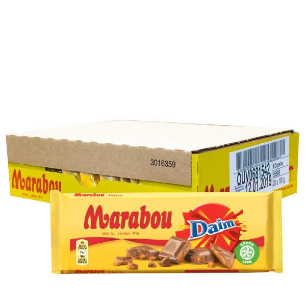 Marabou Mjölk/Daim 100g x 23 st