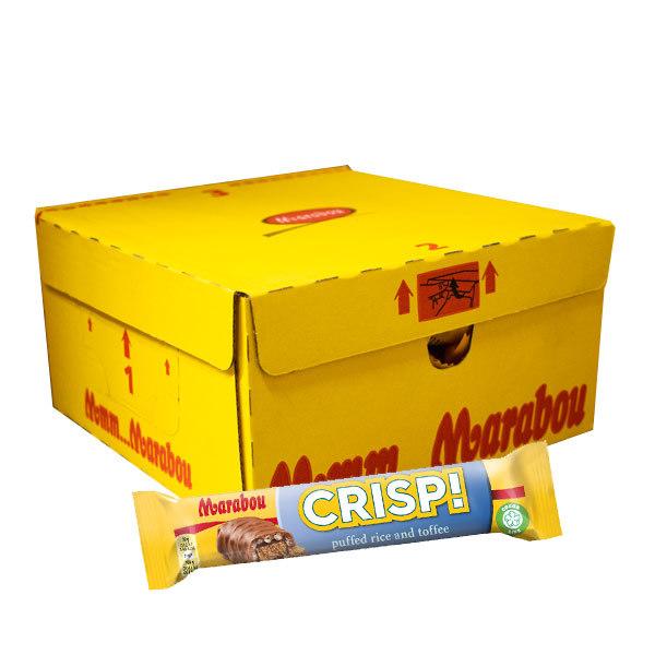 CRISP! Marabou 60g x 25 st
