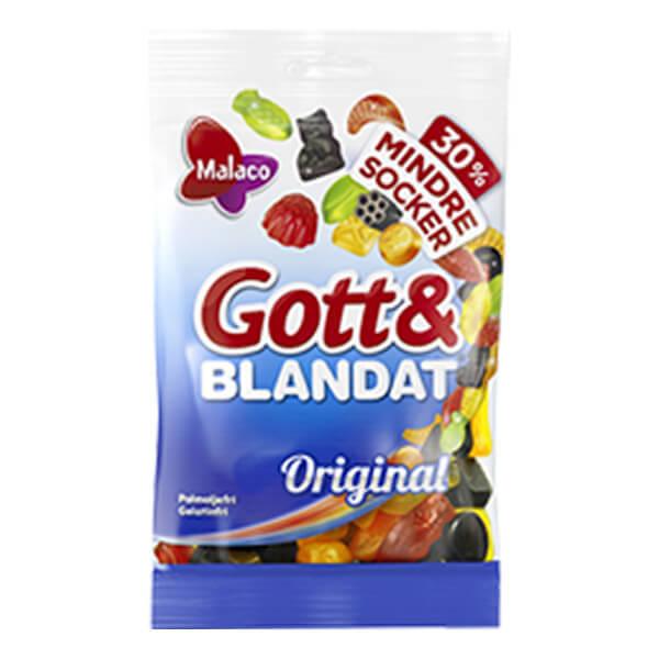 Gott o Blandat Orig.mindre socker 110g
