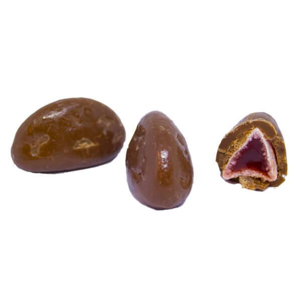 Chokladdragérad Hallonbåt /