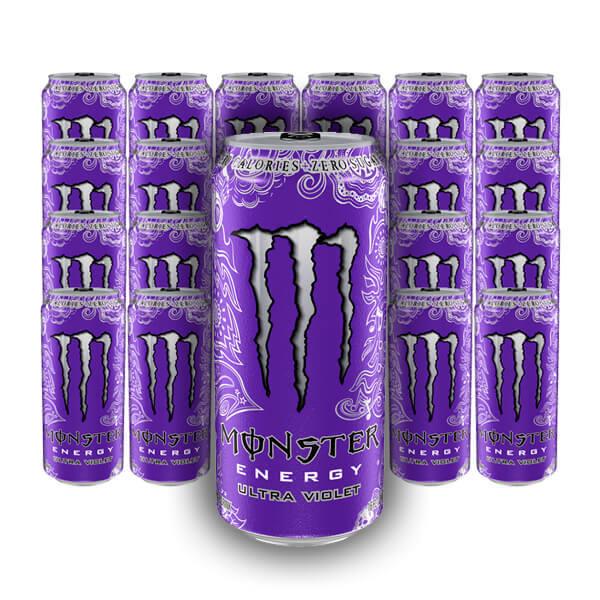 Monster Ultra Violet - 50 cl x 24 st