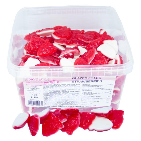 Glazed Filled Strawberries (HALAL) -2 kg