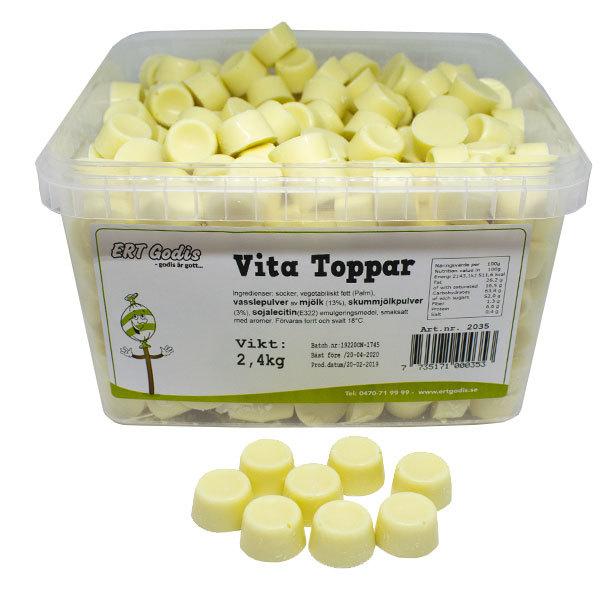 VITA TOPPAR - 2,4 kg
