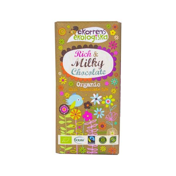 Ekorren Rich Milky Chocolate 85g