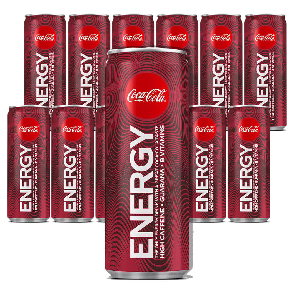 Coca Cola Energy 25 xl x 12 /