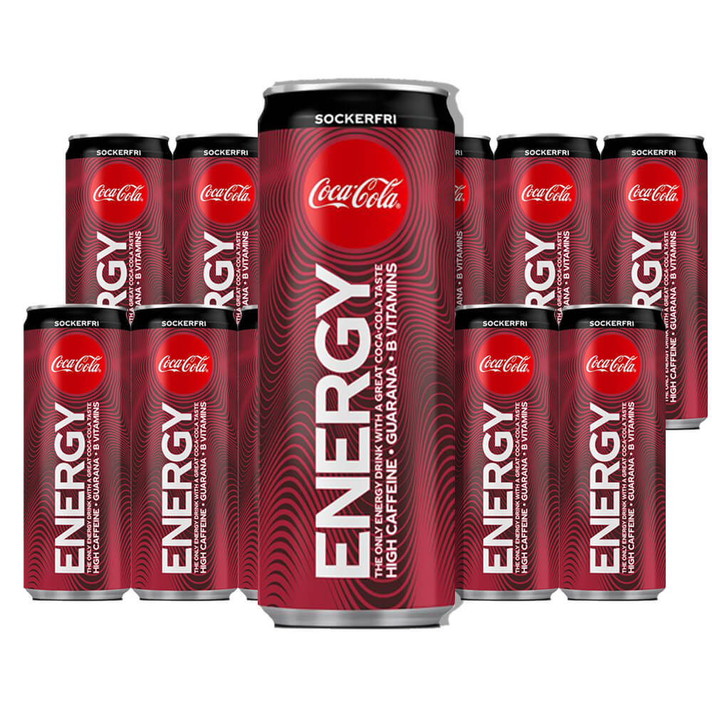 Coca-Cola Energy Zero 25 cl x 12 /