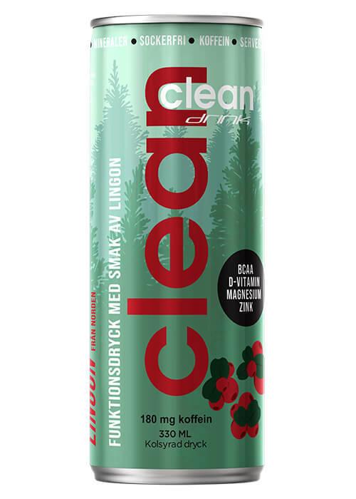 Clean Lingon - 33 cl /