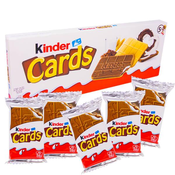Kinder Cards 128 g - 5-pack x 10 Kakor