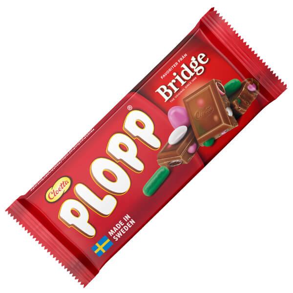 Plopp Choklad Bridge 75g