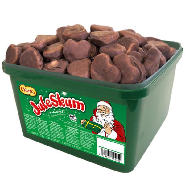 Chokladdoppad juleskum - 0.72 kg