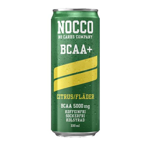 NOCCO BCAA+ CITRUS/FLÄDER 33 CL /
