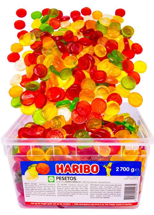 Haribo Pesetos - 2,7 kg