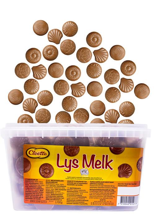 Lys Melk - 1,7 kg